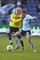 Simon Makienok Christoffersen (Br�ndby IF), Pierre Kanstrup (S�nderjyskE)