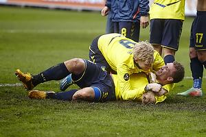 Simon Makienok Christoffersen (Br�ndby IF), Martin Albrechtsen (Br�ndby IF)