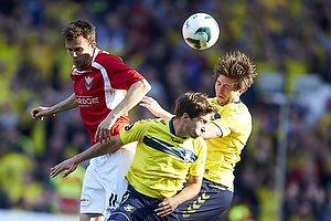 Andrew Hjulsager (Br�ndby IF), Dennis S�rensen (FC Vestsj�lland), Martin �rnskov (Br�ndby IF)