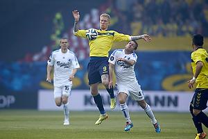 Simon Makienok Christoffersen (Br�ndby IF), Kris Stadsgaard (FC K�benhavn)