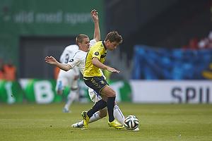 Andrew Hjulsager (Br�ndby IF), Thomas Kristensen (FC K�benhavn)