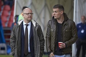 Per Rud, sportschef (Br�ndby IF), Mikkel Thygesen (Br�ndby IF)