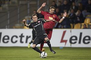 Jens Stryger Larsen (FC Nordsj�lland), Anders K. Jacobsen (Aab)