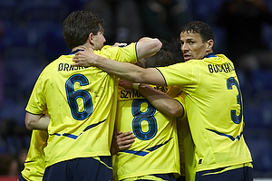 Martin �rnskov (Br�ndby IF), Alexander Szymanowski (Br�ndby IF), Khalid Boulahrouz (Br�ndby IF)