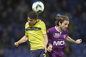 Khalid Boulahrouz (Br�ndby IF), Tim Janssen (FC Midtjylland)