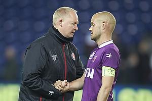Glen Riddersholm, cheftr�ner (FC Midtjylland), Kristian Bach Bak Nielsen (FC Midtjylland)