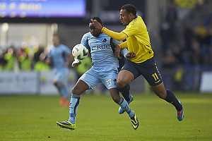Adama Tamboura (Randers FC), Kenneth Zohore (Br�ndby IF)