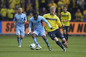 Adama Tamboura (Randers FC), Simon Makienok Christoffersen (Br�ndby IF)