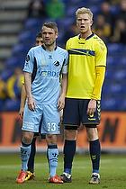Mads Fenger, anf�rer (Randers FC), Simon Makienok Christoffersen (Br�ndby IF)