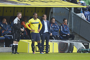 Kenneth Zohore (Br�ndby IF), Thomas Frank, cheftr�ner (Br�ndby IF)