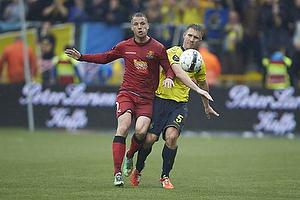 Kim Aabech (FC Nordsj�lland), Martin Albrechtsen (Br�ndby IF)
