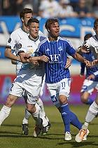 Anders Egholm (Hobro IK), Patrick Mortensen (Lyngby BK)