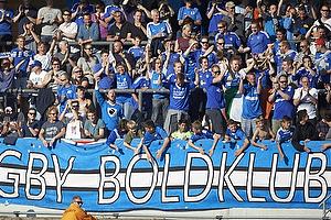 Lyngby-fans jubler