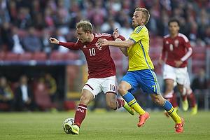 Christian Eriksen (Danmark), Sebastian Larsson (Sverige)