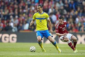 Zlatan Ibrahimovic (Sverige), Pierre Emilie H�jbjerg (Danmark)