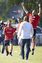 Jonas Dal Andersen, cheftr�ner (Hobro IF), Lars Justesen, assistenstr�ner (Hobro IF)