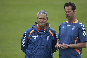 Albert Capellas, f�rsteassistent (Br�ndby IF), Jan Hoffmann, m�lmandstr�ner  (Br�ndby IF)