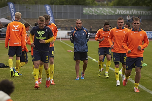 Ahron Thode, fysisktr�ner (Br�ndby IF), Michael Almeb�ck (Br�ndby IF), Martin Albrechtsen (Br�ndby IF)