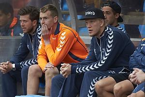 Lukas Hradecky (Br�ndby IF), Simon Makienok Christoffersen (Br�ndby IF)