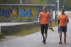 Lukas Hradecky (Br�ndby IF), Michael Almeb�ck (Br�ndby IF)