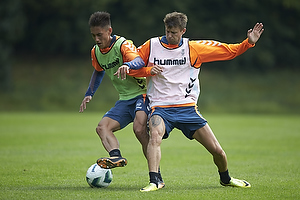 Svenn Crone (Br�ndby IF), Daniel Stenderup (Br�ndby IF)