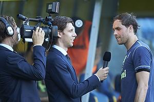Johan Elmander (Br�ndby IF) interviewes til brondby.com