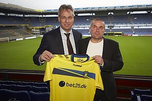 Pressemøde: Ny hovedsponsor i Brøndby IF