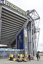 Br�ndby Stadion venter fans p� de �bner d�rene
