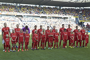 Liverpool FC p� Br�ndby Stadion