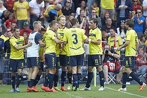 Christian N�rgaard, m�lscorer (Br�ndby IF), Simon Makienok Christoffersen (Br�ndby IF), Michael Almeb�ck (Br�ndby IF), Johan Elmander (Br�ndby IF)