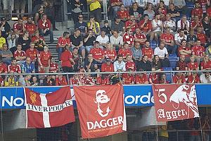 Banner der hylder Daniel Agger (Liverpool FC)