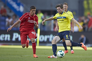 Martin �rnskov (Br�ndby IF), Kristoffer Peterson (Liverpool FC)