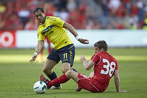 Johan Elmander (Br�ndby IF), Jon Flanagan (Liverpool FC)