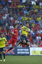 Dario Dumic (Br�ndby IF), Kristoffer Peterson  (Liverpool FC)