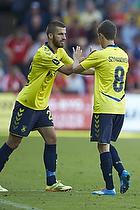 Ferhan Hasani (Br�ndby IF) indskiftes istedet for Alexander Szymanowski (Br�ndby IF)