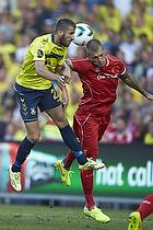Ferhan Hasani (Br�ndby IF), Martin Skrtel, anf�rer (Liverpool FC)