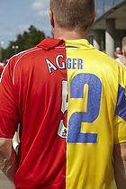 Daniel Agger (Liverpool FC) fan med splittr�je