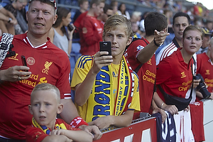 Liverpool-fans go br�ndbyfans