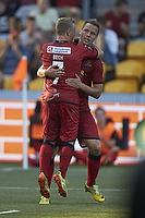 Kim Aabech, m�lscorer (FC Nordsj�lland), Uffe bech (FC Nordsj�lland)