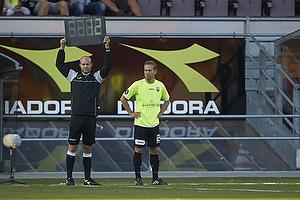 Anders Randrup (FC Vestsj�lland) indskiftes