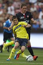Alexander Szymanowski (Br�ndby IF), Morten Duncan Rasmussen (FC Midtjylland)