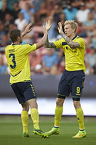 Simon Makienok Christoffersen, m�lscorer (Br�ndby IF), Semb Berge (Br�ndby IF)
