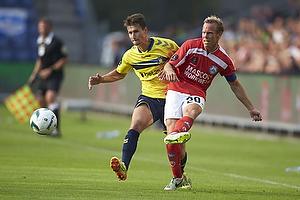Elba Rashani (Br�ndby IF), Frank Hansen (Silkeborg IF)