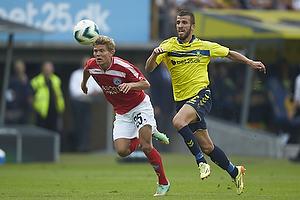 Nicolaj Ritter (Silkeborg IF), Ferhan Hasani (Br�ndby IF)