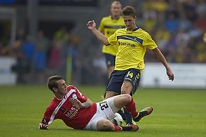 Elba Rashani (Br�ndby IF), Jens Martin Gammelby (Silkeborg IF)