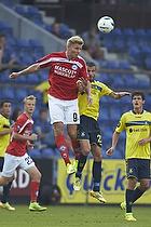 Morten Beck (Silkeborg IF), Ferhan Hasani (Br�ndby IF)