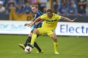 Laurens De Bock (Club Brugge KV), Mikkel Thygesen (Br�ndby IF)