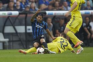 Ferhan Hasani (Br�ndby IF), Lior Refaelov (Club Brugge KV)
