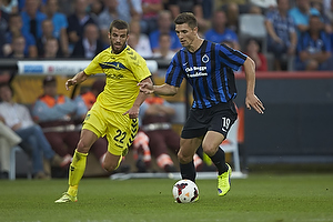 Ferhan Hasani (Br�ndby IF), Thomas Meunier (Club Brugge KV)
