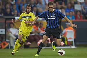 Thomas Meunier (Club Brugge KV), Ferhan Hasani (Br�ndby IF)